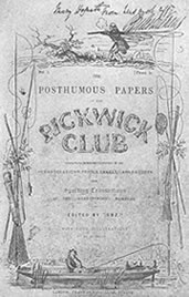 The Pickwick Papers - Original Cover - 1837
